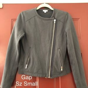 Women's Gap assymetrical zip jacket
